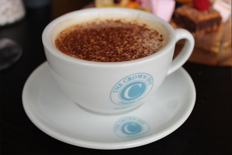 Drop for a Coffee at The Crown Inn Elsenham